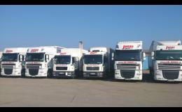 mezinárodní autodoprava zásilek