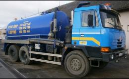 Speciální fekální vozy na vývoz odpadů a hnojiv
