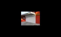 Roletová garážová vrata Kladno