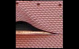Pálená krytina střechy Praha