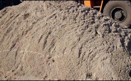 Prodej písku za výhodné ceny.