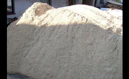 U nás seženete písek říční i písek kopaný.