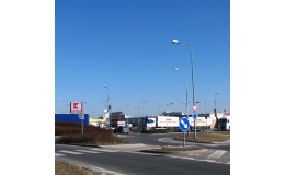 Stožáry veřejného osvětlení Břeclav