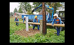 Výstavba veřejného osvětlení