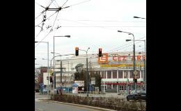 Ocelové venkovního osvětlení Břeclav