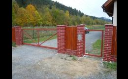 Posuvné brány Valašské Meziříčí