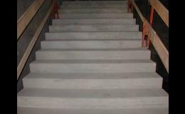 Stavební práce - schodiště podruhé