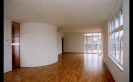 obývací pokoj - stavební práce