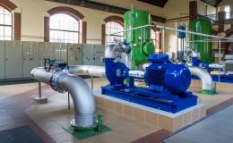 Čistírny odpadních vod, kanalizační čerpací stanice
