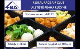 Restaurace Air Club rozvoz obědů