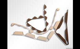 Profilové těsnění pro trapézové plechy