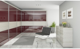 Sklo T.CristalColor - využití v interiéru