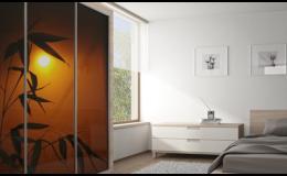 Sklenené obklady, výplne, zásteny - sklo T.Cristal Zlínsky kraj, ČR