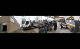 Řezání hutního materiálu Brno