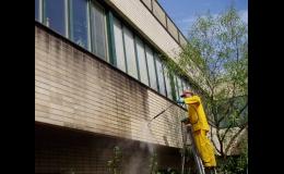 Profesionální čištění fasád