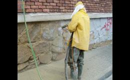 Fasádu vašeho domu zbavíme všech nečistot