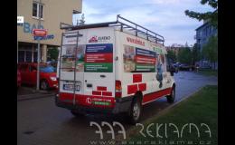 Reklamní polepy na auto? Praha