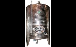 Nerezové nádrže, výroba vinárskych technológií južná Morava, Česká republika