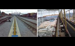 Crane, railway, tram, mine rails - delivery, assembly, installation, the Czech Republic