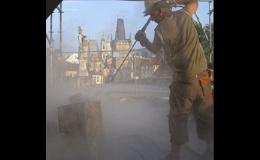 Čištění fasád Praha