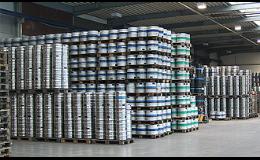 Pivní sudy Kegy Praha - speciálně vyvinuté pro průmyslové plnění a sterilní skladování nápojů