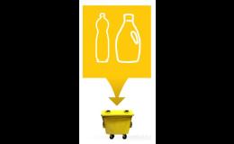 Žlutý kontejner - plast