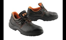 Pracovní obuv s ocelovou špičkou S1