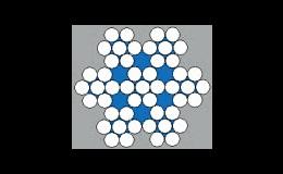 Ocelová lana STANDARD šestipramenná od výrobce