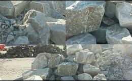 Prodej žuly a jiného kameniva