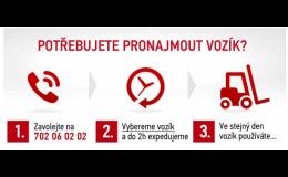 Pronájem manipulační techniky  Rudná u Prahy