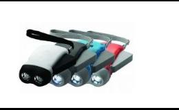 Baterka samodobíjecí na ruční pohon.dynamem