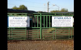 Písek Jaroměř  - zázemí firmy