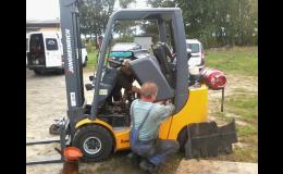 Opravy a servis vysokozdvižných vozíků Dačice
