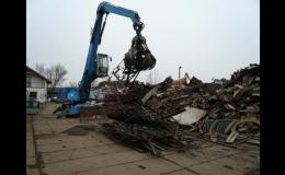 Výkup, zpracování kovového odpadu Pohořelice