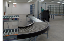 A roller conveyor will significantly speed up the operation in all industrial fields, the Czech Republic