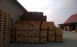 Výkup dřevěných, standardních a europalet palet