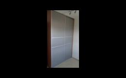 Vestavěné skříně, zakázková výroba Ivančice, Moravský Krumlov