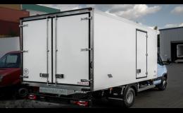 panely pro skříňové nástavby nákladních automobilů
