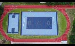 Sportovní povrch pro víceúčelové hřiště