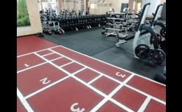 Podlahy do fitness