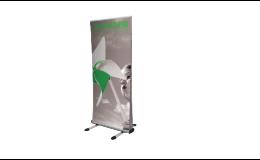 Predaj prezentačného systému Roll-up, Brno