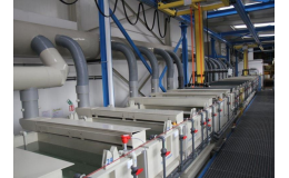 Galvanovna firmy GALVA s.r.o., kde se uskutečňuje povrchová úprava kovů