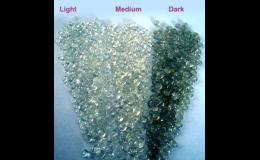 výroba Remistyrenu - různé barevné odstíny
