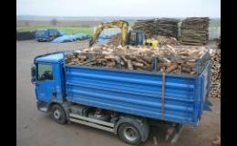 Palivové dříví, dodávka, prodej Jaroměřice nad Rokytnou