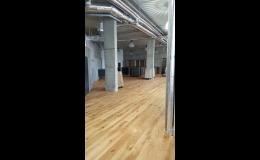 Podlahy do bytu, domu i kanceláře v prodejně na Praze 4 -