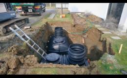 montáž dešťové akumulační nádrže