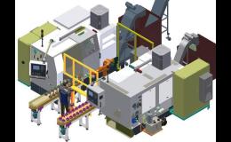 Robotizovaná soustružnická pracoviště pro zefektivnění práce