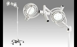 Lékařská vyšetřovací, operační lampa pojízdná