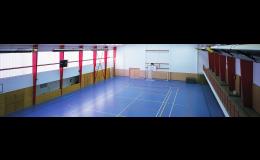 Sportovní hala pro míčové hry, volejbal, tenis, florbal, házená, košíková Semily