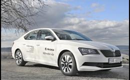 Náhradní vozidlo Škoda Superb - zapůjčení a dlouhodobý pronájem